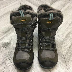 Keen Shoes - Keen | Durand Polar Boot Magnet Mineral Blue 6.5